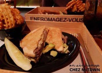 grilled cheese chez MLTDWN bonne adresse Montréal