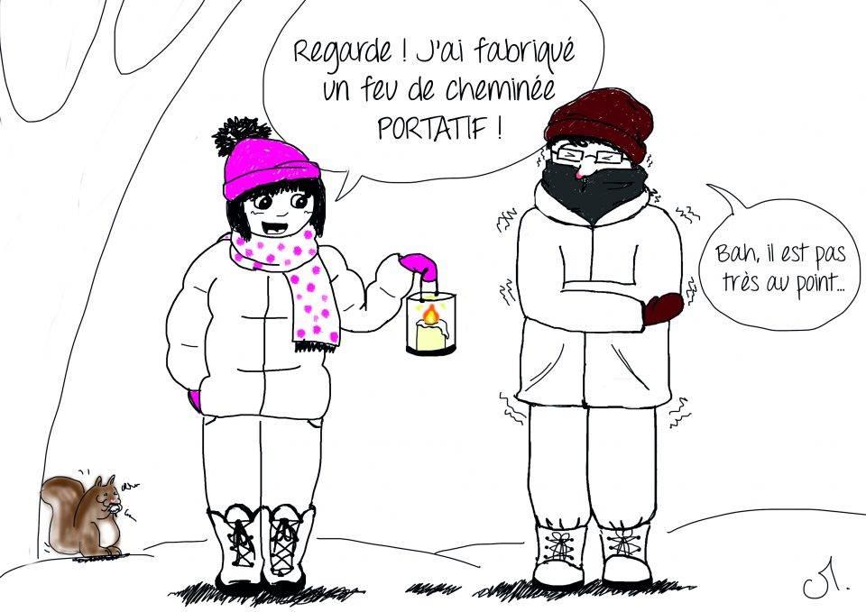 Pvt canada survivre l 39 hiver montr al nous les caribous - Dessin sur l hiver ...