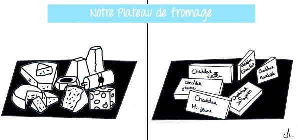 plateau de fromage paris vs montréal